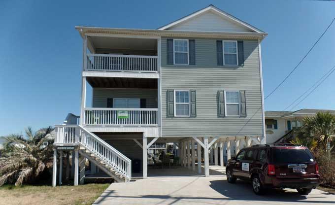 Beach House Rentals North Myrtle Beach Cherry Grove