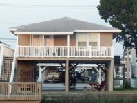 Cricket Cottage Rear Deck