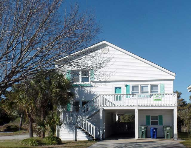 Channel Homes Cherry Grove Beach Vacations