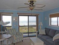 Sea Cabin 201 Living Area View
