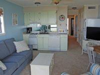Sea Cabin Living Area/Kitchen
