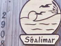 Shalimar 8C - Shalimar Sign