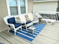 21 - Back Deck - Cricket Cottage - May 2021