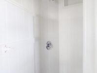 Outdoor Shower in Storage Room