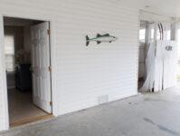 Downstairs Bedroom, Bathroom, & Outdoor Shower