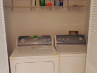 Washer & Dryer (In the Downstairs Bedroom)