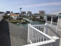 Nanas Beach House Top deck view