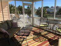 Nanas Beach Cottage screen porch