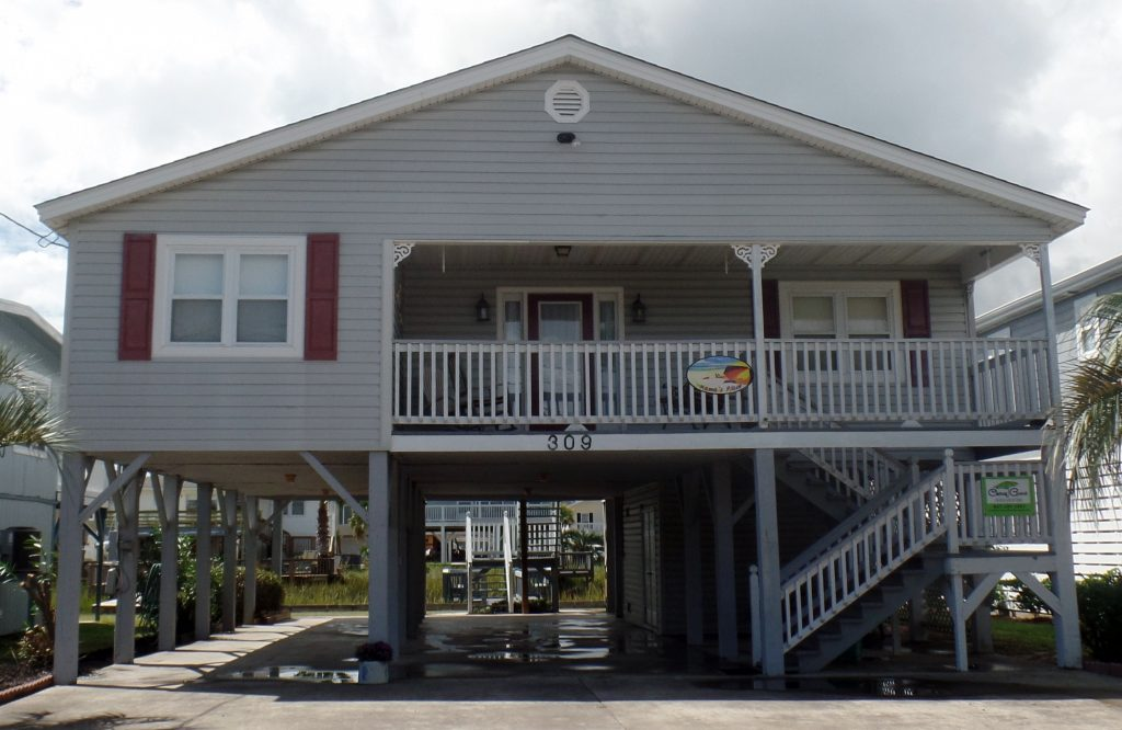 Mamas Place Channel Home Cherry Grove Beach Vacations