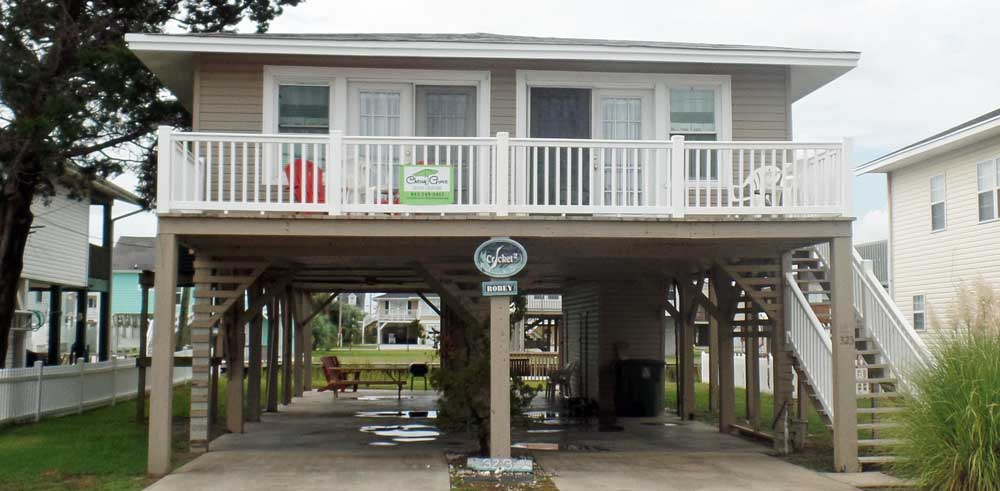 Cricket Cottage Channel Home Cherry Grove Beach Vacations