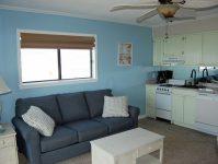 Sea Cabin 201 Living Area